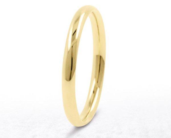 Yellow gold ladies wedding ring WR1005Y