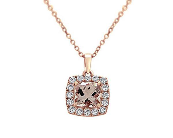 BPN005-18k-rose-gold-cushion-cut-morganite-pendant-image-1